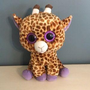 c0789d1eefd beanie boo Other - Ty beanie boo large safari giraffe